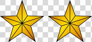 Police Gold Clip Art - Gold Star PNG