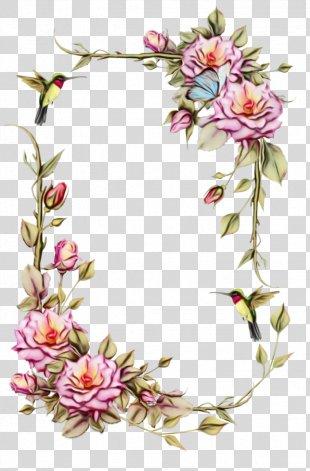 Floral Design Borders And Frames Flower Clip Art Rose PNG
