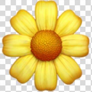 Emoji Sticker Flower - Emoji PNG