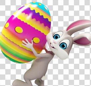 Easter Bunny Rabbit Easter Egg Easter Monday - Easter PNG