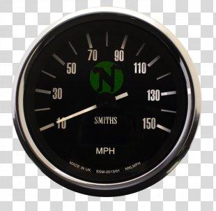 Car Tachometer Speedometer Motorcycle BSA Gold Star - Speedometer PNG