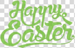 Easter Bunny Easter Egg Clip Art - Happy Easter PNG