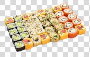 Makizushi Japanese Cuisine California Roll Tempura Sushi - Sushi PNG