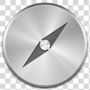 Safari Web Browser - Steel PNG