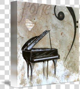 Piano Art Printmaking Printing Poster - Piano PNG