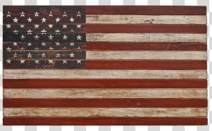 Flag Of The United States Wood Jolly Roger - American Flag PNG