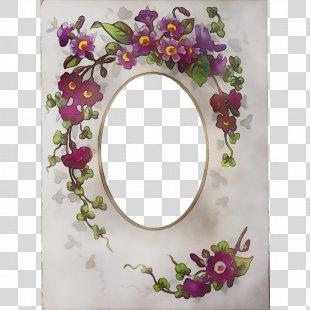 Floral Design Artificial Flower Picture Frames PNG