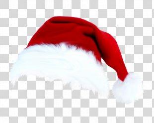 Santa Claus Christmas Hat Cap - Christmas Hats Material Free Download PNG