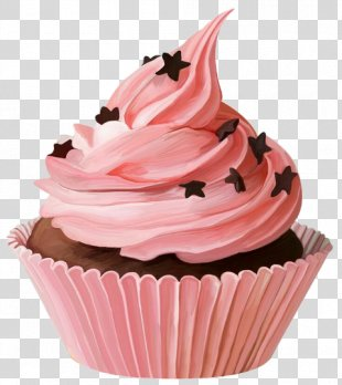 Cupcakes And Muffins Party Cup Cakes Chocolate Cake - Chocolate Cake PNG