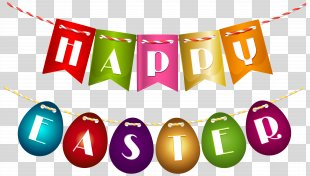 Easter Bunny Red Easter Egg Clip Art - Happy Easter PNG