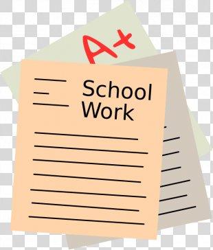 School Coursework Student Clip Art - Exam PNG