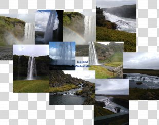 Waterfall Water Feature Water Resources Watercourse - Waterfall Video PNG