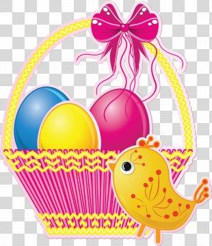 Easter Basket Easter Egg Clip Art - Easter PNG