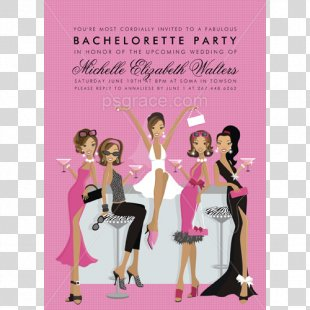 Wedding Invitation New Year's Day Bachelorette Party Baby Shower - Birthday Invitation PNG
