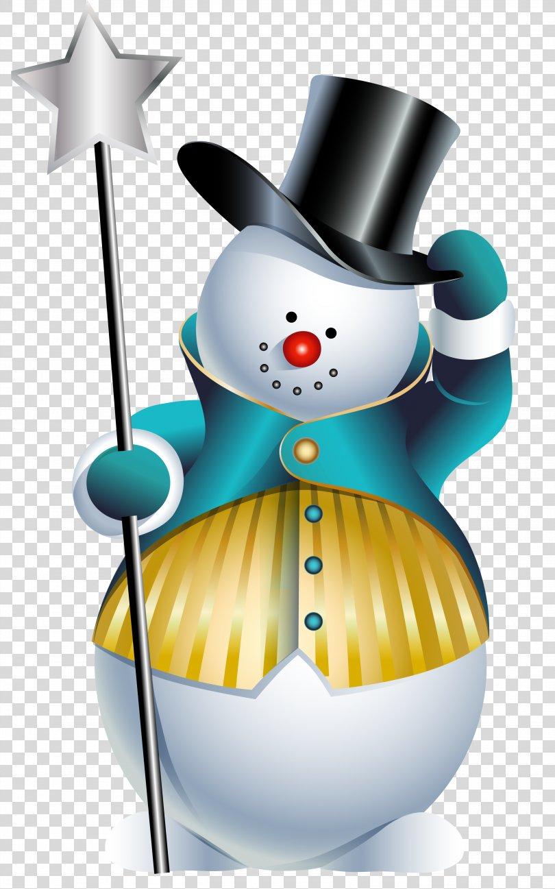 Santa Claus Christmas Snowman Clip Art, Spring Snowman Cliparts PNG