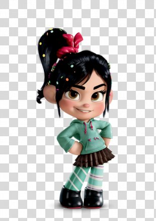Disney Magical World 2 Wreck-It Ralph Vanellope Von Schweetz Sergeant Calhoun Fix-It Felix - Wreck It Ralph Transparent Background PNG