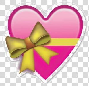 Emoji Sticker Heart Emoticon - Emoji PNG