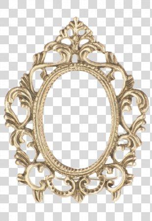 Vintage Picture Frames Antique Gold - Vintage PNG