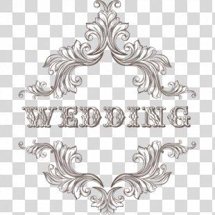 Wedding Invitation Clip Art - Fashion Vector Wedding PNG