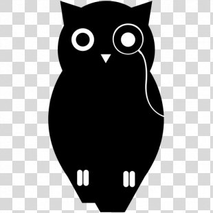Owl Cat Graphic Design Logo - Owl PNG
