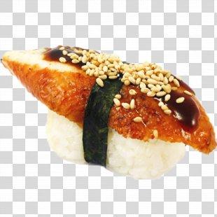 Onigiri Sushi California Roll Gimbap Spam Musubi - Sushi Image PNG