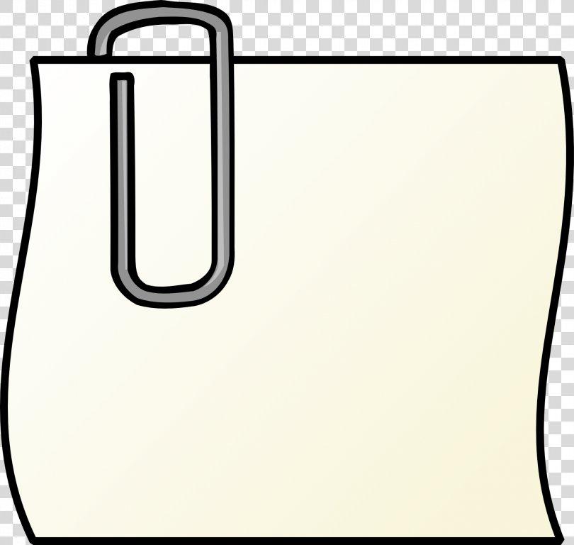 Post-it Note Paper Clip Clip Art, Paper Clip PNG, Free Download