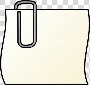 Post-it Note Paper Clip Clip Art - Paper Clip PNG
