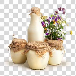 Milk Kefir Ryazhenka Cream Dairy Products - Milk PNG