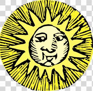 Clip Art Image Illustration - Clip Art The Sun PNG