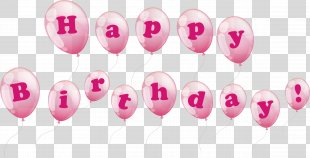 Birthday Cake Balloon Happy Birthday To You - Vector Happy Birthday Balloons PNG