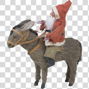 Donkey Germany Foal Santa Claus Horse - Donkey PNG