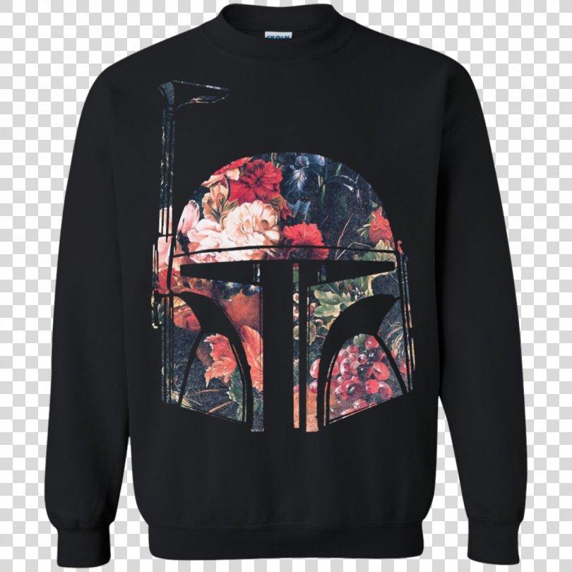T-shirt Hoodie Sweater Boba Fett Top, T-shirt PNG