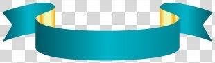 Clip Art - Blue Banner Transparent Clip Art Image PNG