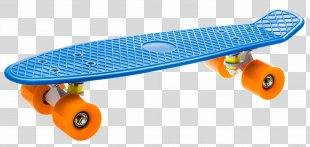 Skateboard Penny Board Pink Polyurethane Longboard - Skateboard PNG