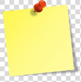 Post-it Note Paper Clip Art - Pot PNG
