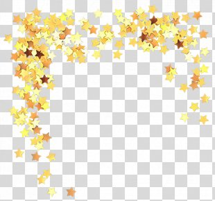 Gold Stars - Yellow Gold PNG
