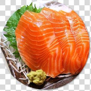 Sashimi Sushi Smoked Salmon Japanese Cuisine Philadelphia Roll - Sushi PNG