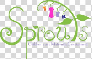 Sprouts Consignments Logo Child Consignment Store - Child PNG