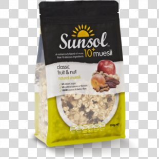 Muesli Breakfast Cereal Nut Fruit - Almond PNG
