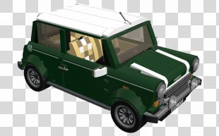 Compact Car MINI Model Car Van - Car PNG