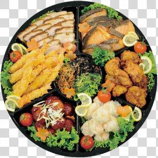 Hors D'oeuvre Vegetarian Cuisine Asian Cuisine Side Dish Platter - Salad PNG