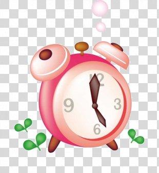 Alarm Clock Pink Icon - Alarm Clock PNG