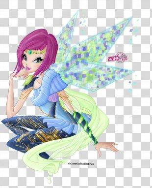 Tecna Bloom Musa Aisha Stella - Fairies PNG