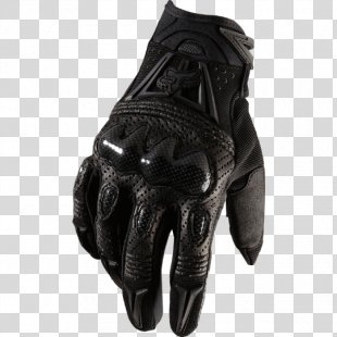 FOX Bomber Motocross Gloves Fox Racing Motorcycle - Fox Gloves PNG