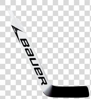 Hockey Sticks Bauer Hockey Ice Hockey Stick Goaltender - Hockey PNG