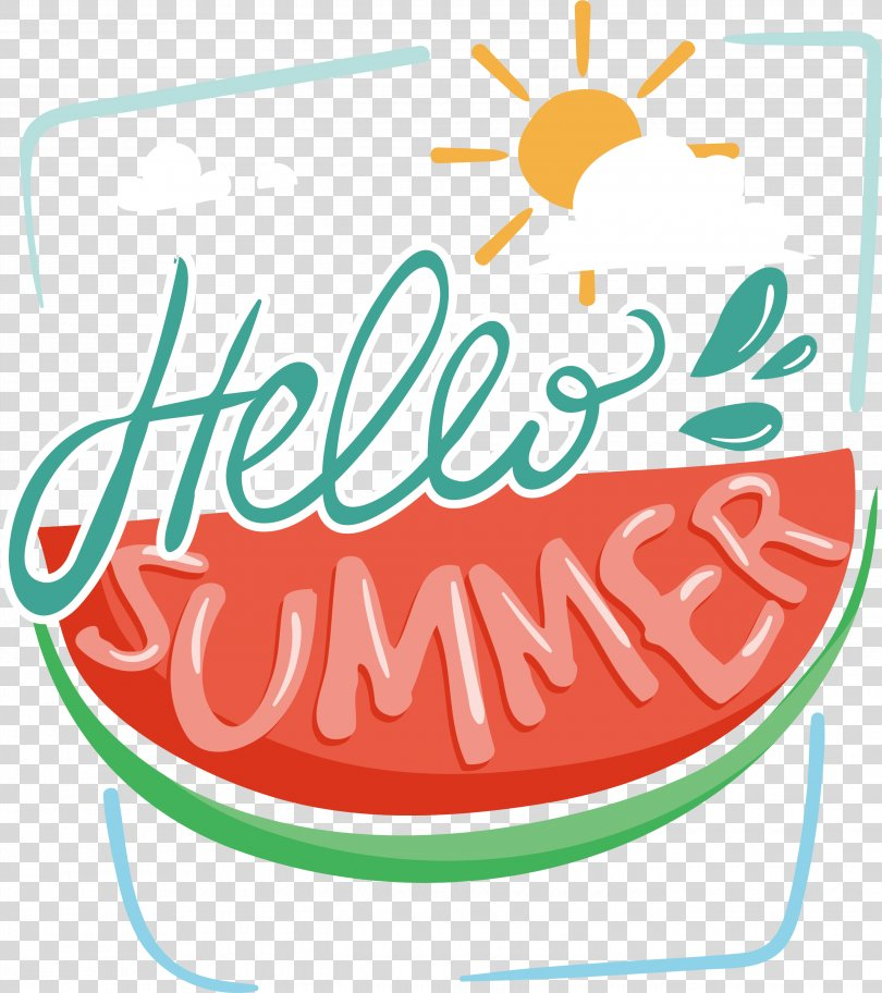 STAR SOUL Download Clip Art, Watermelon Hello Summer Poster PNG