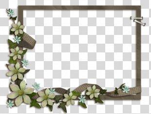 Picture Frames Film Frame Image Heart Frame - Floral Decoration PNG
