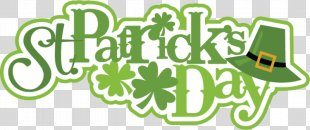 Saint Patrick's Day Text PNG