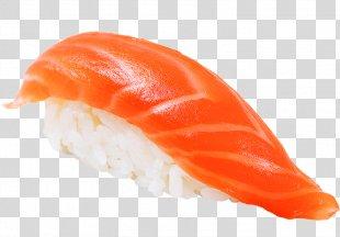 Sushi Makizushi Smoked Salmon Japanese Cuisine - Sushi PNG