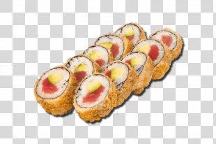 California Roll Makizushi Sushi Tempura Unagi - Sushi PNG